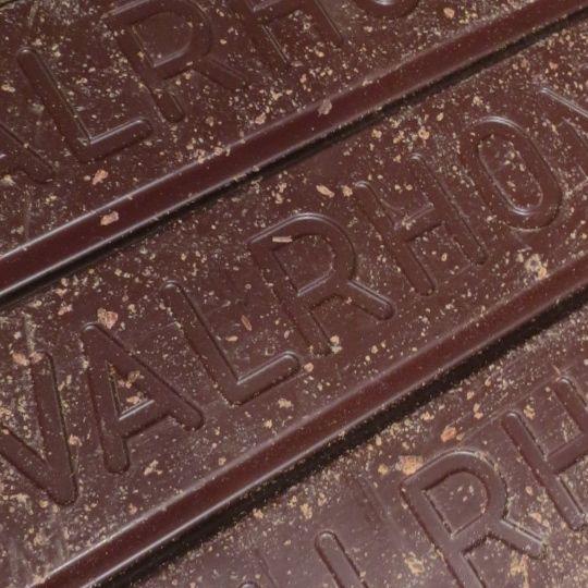 Big slab of my favourite chocolate, Valrhona's Manjari.