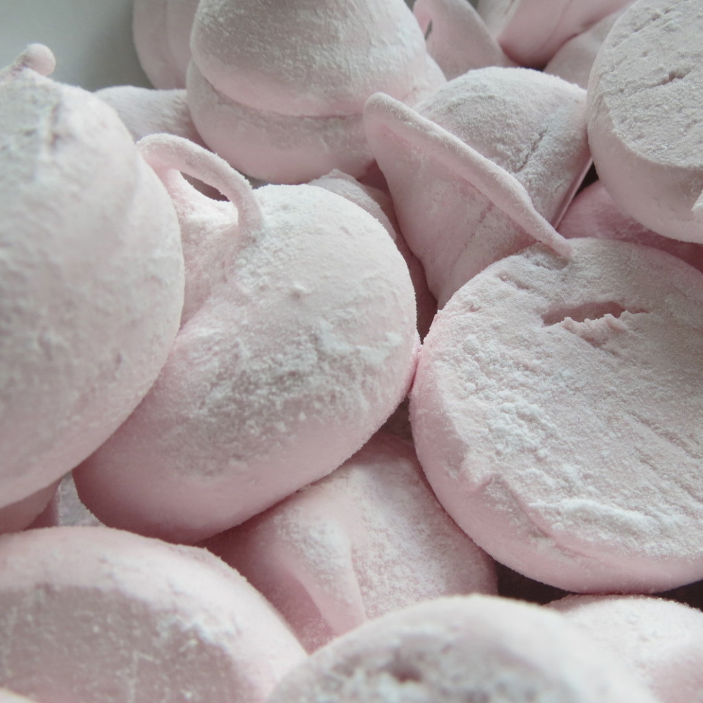 Cushions of raspberry pink delight